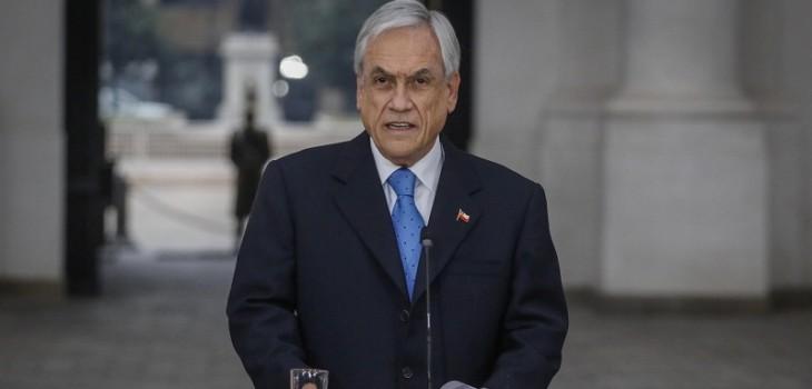 Piñera por cuestionados proyectos en el Congreso:
