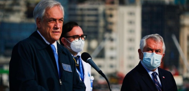 Ministro Paris tras visita de Piñera a vinoteca