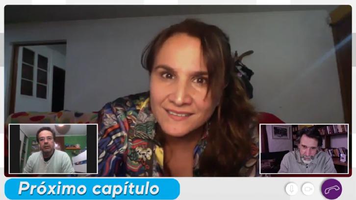 Claudia Pérez en Historias de cuarentena