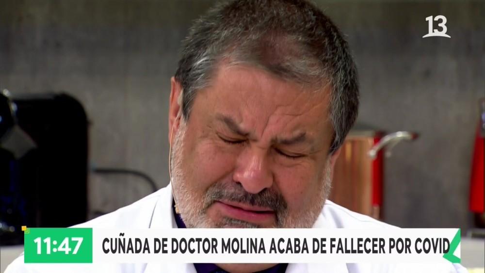 doctor en bienvenidos llora a su cuñada