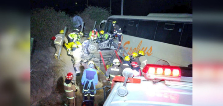 Accidente con un muerto en Melipilla