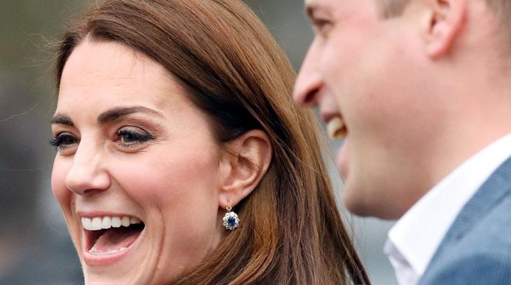 Aretes de zafiro Kate Middleton