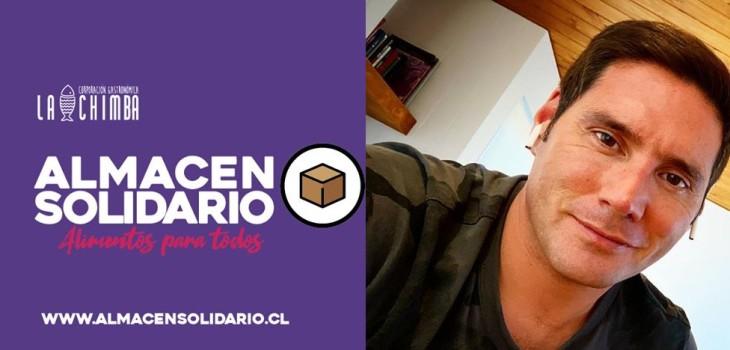 Pancho Saavedra colabora en campaña Almacén solidario