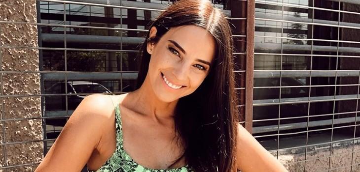 El lindo registro de Daniela Castillo de su infancia