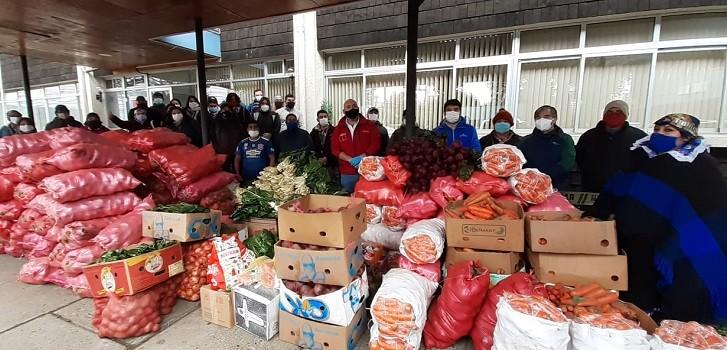 donación de comunidad mapuche