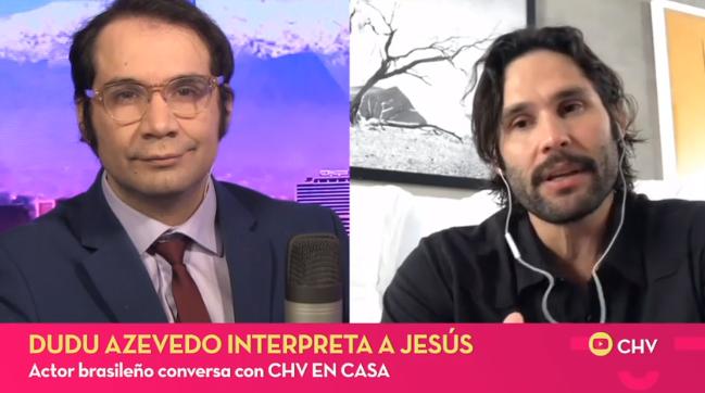 Dudu Azevedo contó cómo se preparó para interpretar el rol de 'Jesús'