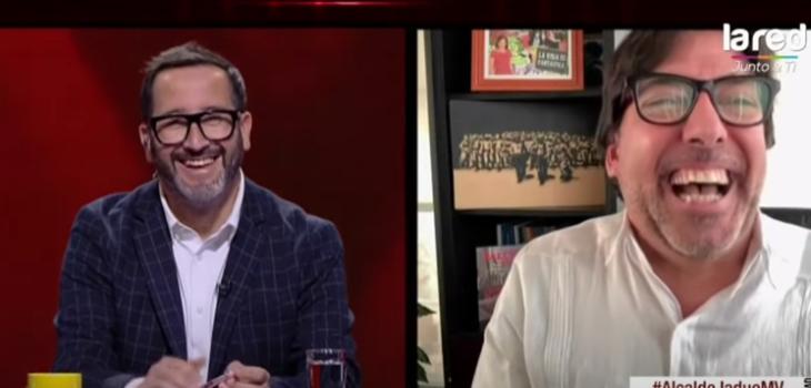 Eduardo Fuentes troleó a alcalde Daniel Jadue tras 'amena' entrevista en Mentiras Verdaderas