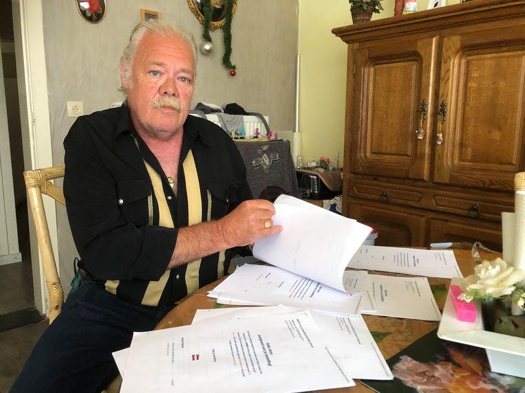 Jean Van Landeghem y una serie de facturas de pizzas que no pidió |  Het Laatste Nieuws