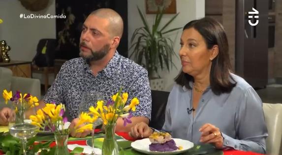 El exótico ingrediente que Fran Ayala utilizó en 'La Divina Comida' para que su puré quedara morado