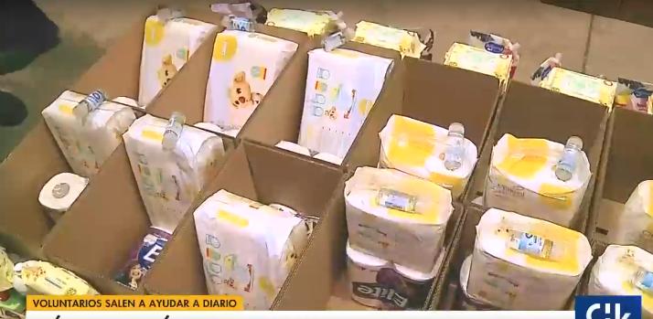 Iniciativas ciudadanas ayudan a los más necesitados durante la crisis: Kiwi lidera una de ellas