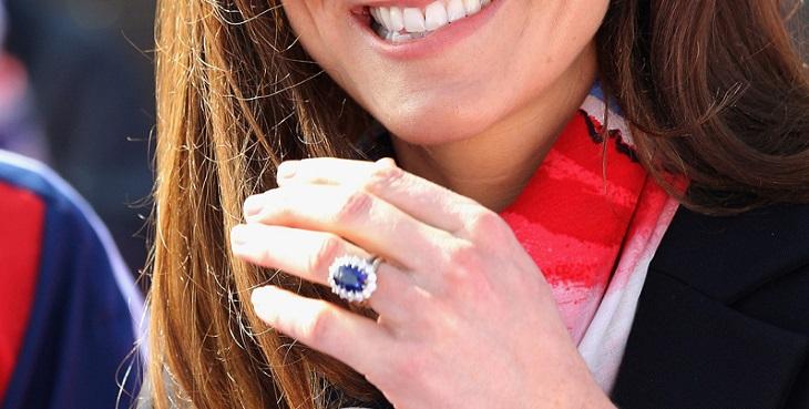 Anillo de compromiso Kate Middleton