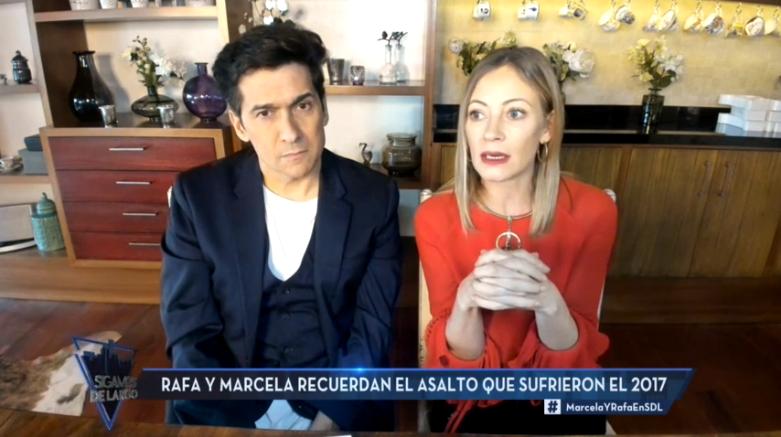 Marcela Vacarezza y Rafa Araneda en Sigamos de largo