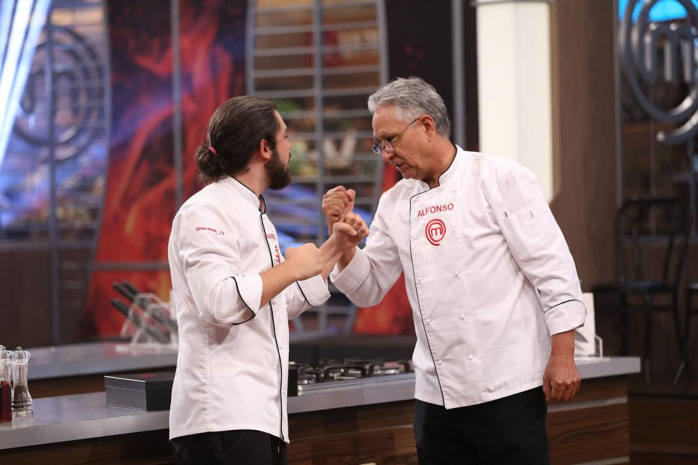 Max Cabezón y Alfonso Castro