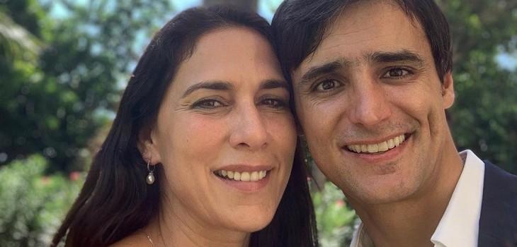 Mey Santamaría compartió postal familiar