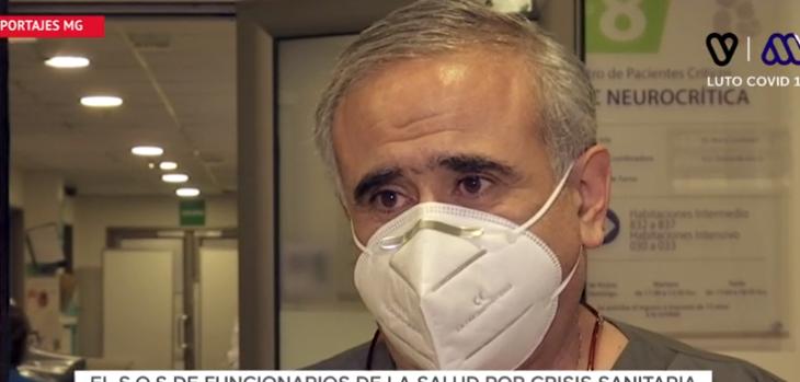 El pregunta que descoló a doctor Ugarte en reportaje de 'Mucho Gusto' sobre su trabajo en la UCI