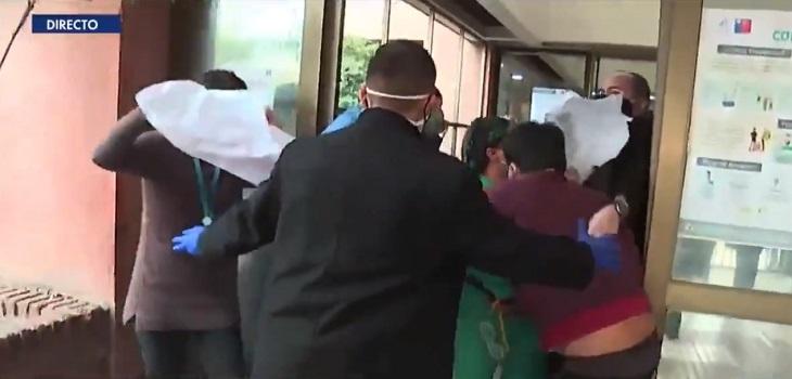 ministro de salud en hospital san jose