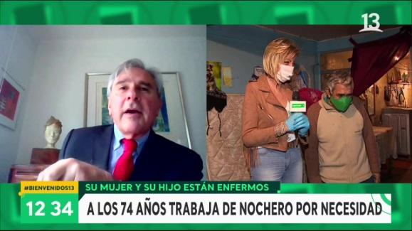 El enojo de Argandoña por tenso cruce entre Moreira y Vidal