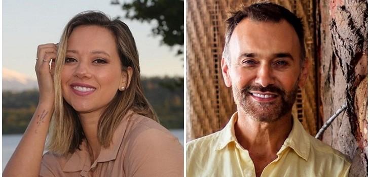 Ingrid Parra y Jordi Castell