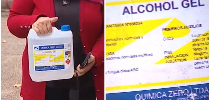 Alcohol Gel Química Zero