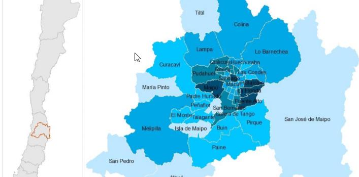 Puente Alto sigue liderando en contagios por covid-19