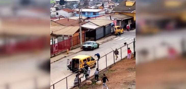 Captan robo de 35 cajas de alimentos en sector de Rodelillo en Valparaíso