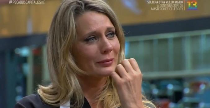 Rocío Marengo se molestó por bromas a su plato y terminó llorando en MasterChef