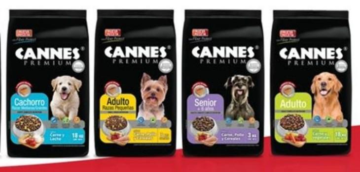 Tras denuncias de muertes de perros Cannes anunció retiro voluntario de alimentos