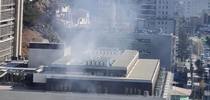 Incendio en hospital Gustavo Fricke