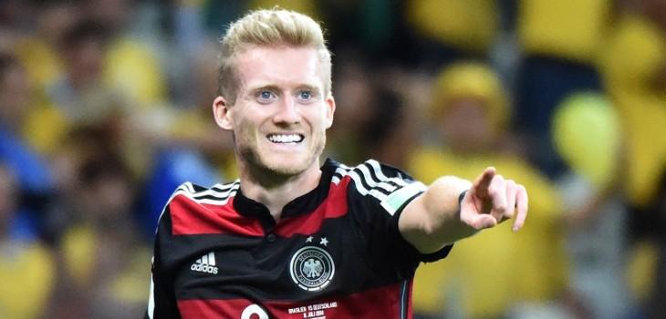 futbolista alemán André Schürrle sorprende y se retira a los 29 años