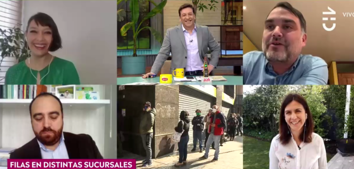 La broma de Julio César Rodríguez a diputado Macaya en CHV