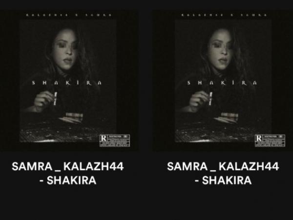 """Portada de canción """"Shakira"""""""