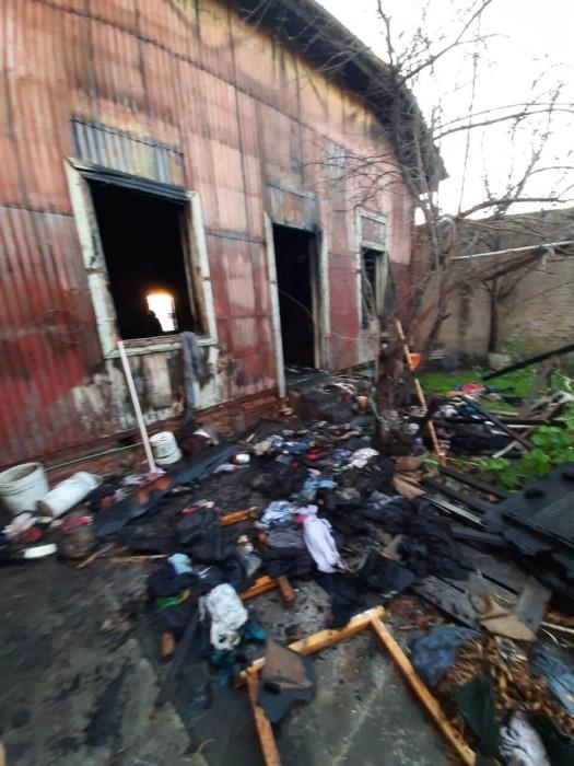 Iglesia adventista quemada en Argentina