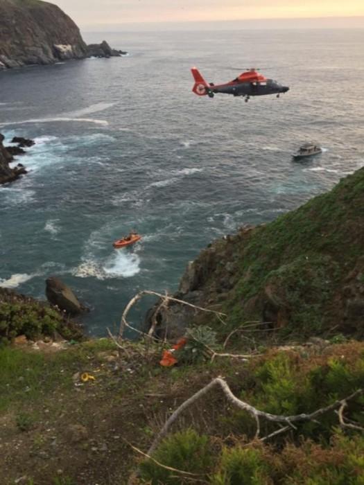 Adolescente muere tras caer desde 35 metros de altura en sector Punta Ángeles en Valparaíso
