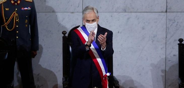 Sebastián Piñera, Cuenta Pública 2020