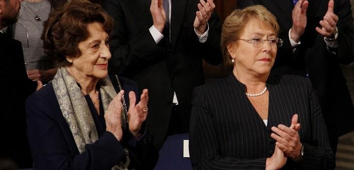 mamá de Michelle Bachelet
