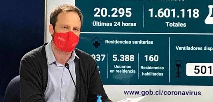 Reporte de Minsal confirma 99 fallecidos y 1.948 nuevos casos positivos de COVID-19