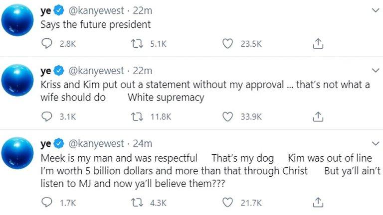 Kanye West | Twitter