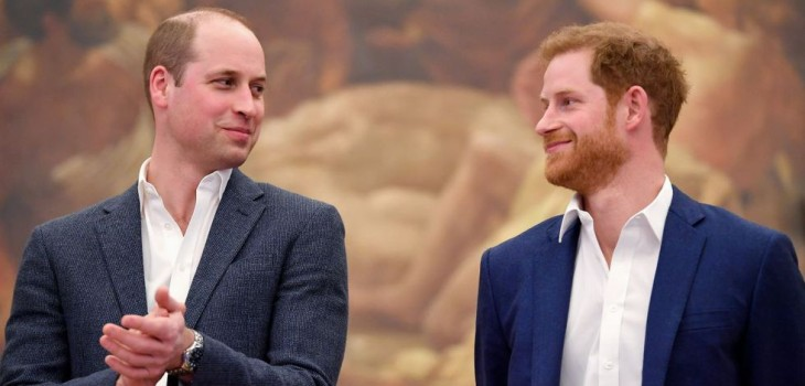 Harry y William en la polémica