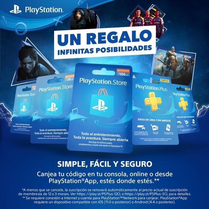 membresías de PlayStation Network ya se pueden adquirir en pesos chilenos