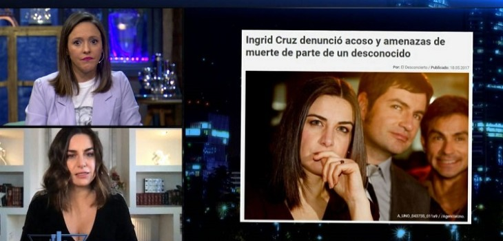 El potente testimonio de Ingrid Cruz por abusos en su niñez