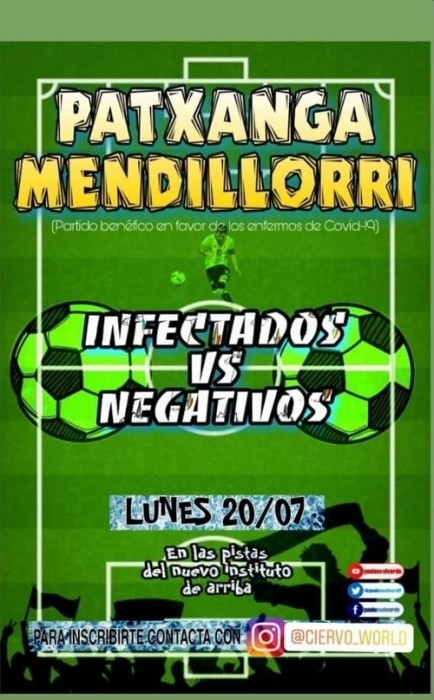 afiche partido futbol españa