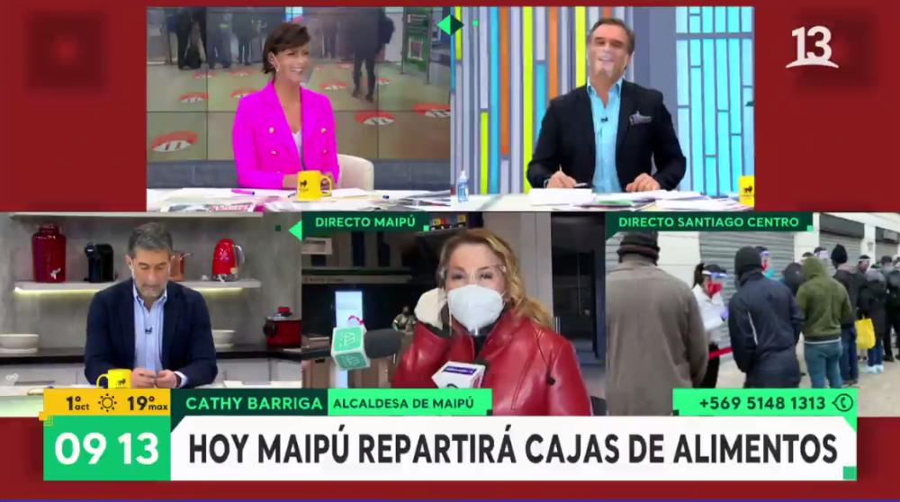 Bienvenidos: la respuesta Cathy Barriga a pregunta de Amaro Gómez-Pablos que sorprendió y sacó risas
