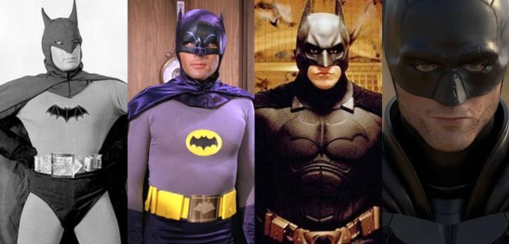 así ha cambiado Batman en el cine con el paso de los años