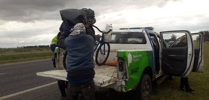 ciclista viajo asuncion mar del plata