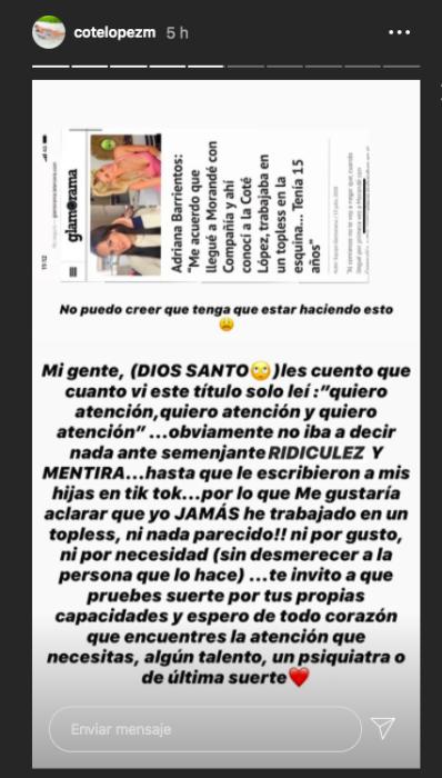 Cote López | Instagram