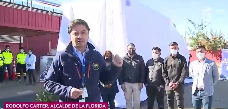 Carter y su criticado momento en matinal de CHV: inauguró ambulancia en honor a vecina fallecida