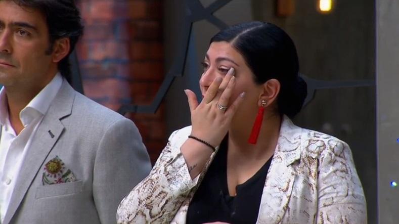 chef Fernanda emocionada