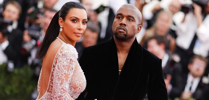 captan a Kim Kardashian llorando al reunirse con Kanye West