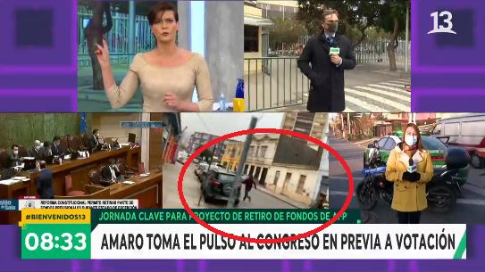 Despacho de Amaro Gómez-Pablos en 'Bienvenidos' desde el Congreso fue interrumpido por persecución