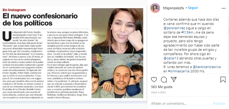 Captura | Instagram